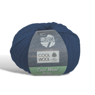 Cool Wool Baby - Wolle - 210 - Nachtblau