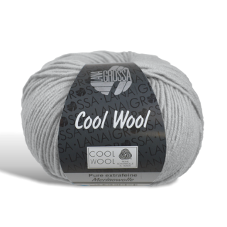 Cool Wool - Wolle - 443 - Hellgrau meliert