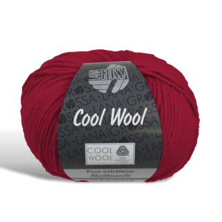 Cool Wool - Wolle - 514 - Dunkelrot