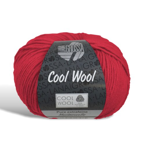 Cool Wool - Wolle - 417 - Leuchtendrot