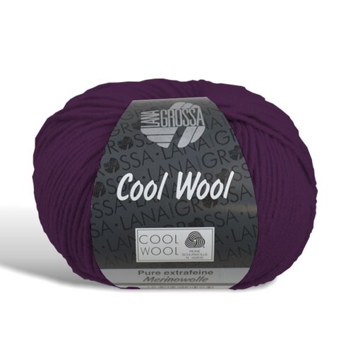 Cool Wool - Wolle - 2023 - Dunkelviolett