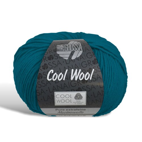 Cool Wool - Wolle - 2015 - Petrolgrün