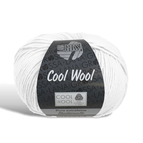 Cool Wool - Wolle - 431 - Weiss