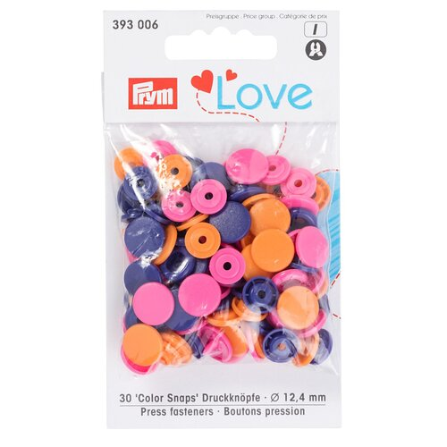 Prym Love Druckknopf Color Snaps 30-Set  in diversen...
