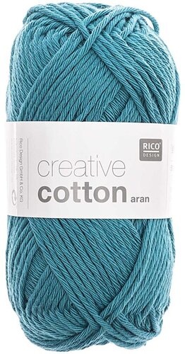 Rico Creative Cotton Aran 47 petrol