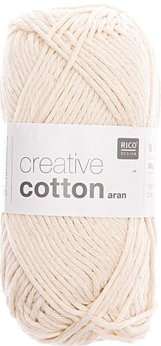 Rico Creative Cotton Aran 60 natur