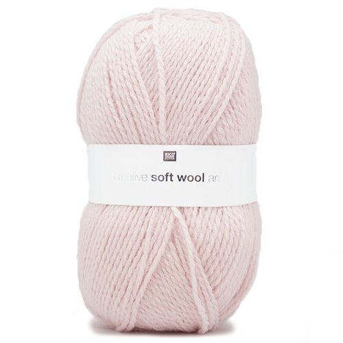 Rico Creative Soft Wool Aran 011 rosa