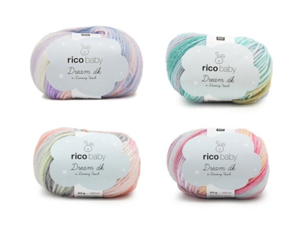 Rico Baby Dream Luxury touch - diverse Farben