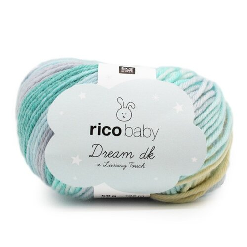 Rico Baby Dream Luxury touch 006 türkis mix